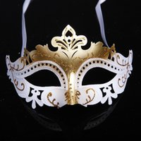 Wholesale gold shining wedding party mask carnival bridal costume masquerade ball prop novelty sexy lady costome mix color half face