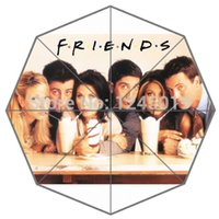 auto tv shows - Popular USA TV Show Remind Your Best Memory Friends Auto Foldable Umbrella