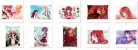 Wholesale hot anime Akatsuki no Yona characters Yona Son Hak Pillowcase The girl standing in the blush of dawn sides Cushion