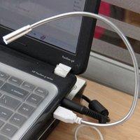 Cheap Cheap USB LED Light, 1 LED USB Reading Lamp For Laptop Notebook pc #KT613 4PCS LOT Free shipping