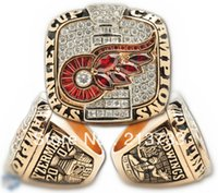 2002 Detroit Red Wings de la Copa Stanley anillo de Campeonato, anillo de campeonato de encargo, anillo de la clase, el deporte anillo envío gratis