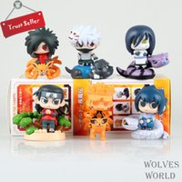 Wholesale New High Quality Animation Toys POP Cute Naruto Sasuke Model cm Action Figures PVC Superior Gifts