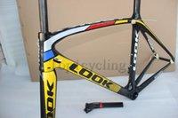 carbon fiber road bike bicycle frame - Glossy look carbon frame T1000 carbon fiber road frame road bicycle frameset Size XS S M L look road bike frame mtb frameset
