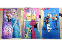 Multicolor beach design bathrooms - 60 cm New FROZEN Towel design Elsa Anna OLAF cotton towels bathroom children beach towel bath towel