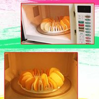 Wholesale DIY Low Calories Microwave Oven Fat Free Potato Chips Maker Home New hv3n