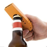 beer opener hat - Beer Opening Cap Launcher Bottle Opener Shooter By Spinning Hat Fire Cap Yellow