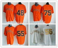 barry zito - 2015 New San Francisco Giants Jersey New Pablo Sandoval Orange Tim Lincecum White Gold Barry Zito Jersey Baseball Best Quality