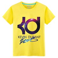 best basic t shirts - New Kevin durant basketball t shirt jersey sports loose best on sale letter KD men tops tee basic daily wear summer S XL