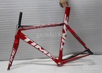 Wholesale Time RXRS Ulteam red Carbon Module Road Bike Frames fork headset seatpost