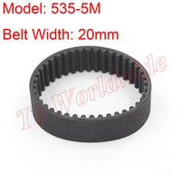 Wholesale 5M Type Timing Belt M mm Belt Width mm Pitch for M Timing Pulley