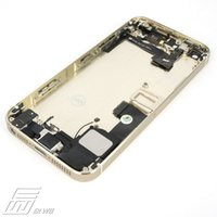 Wholesale Full Housing Metal Alloy Replacement Back Cover Battery Case For iPhone s Mid Middle Frame Bezel Complete A012