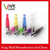 Cheap GS-H2S Daul Coil H2s Atomizer Tank Newest Bottom Coil Syestem Clearomizer Tank Update From H2 8 Colors Option