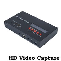 Wholesale EZCAP USB P HD Video Capture HDMI YPbPr Recorder Game Capture with one Click Support HDCP For Xbox PS3 TV Camera