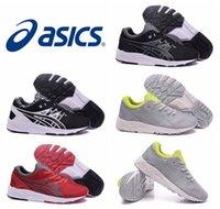 Nuevos zapatos corrientes de Asics Bruce Lee del estilo para los hombres, tamaño atlético respirable de las zapatillas de deporte del aire de la manera el tamaño 40-45 libera el envío