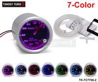 Wholesale Tansky Universal Cars Vacuum Meter Gauge TYPE R quot mm COLOR SETTINGS Vacuum GAUGE TK C7706