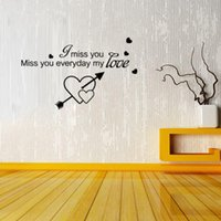 Wholesale Miss Lovely Wall Stickers Decorative Wallpaper Decoration Wall Art Poster For Living Room Bedroom