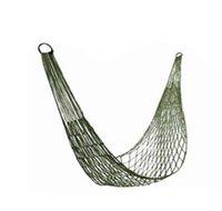Wholesale Outdoor overstriking durable single net hammock nylon camping necessary garden leisure easy bed x cm bearing kg