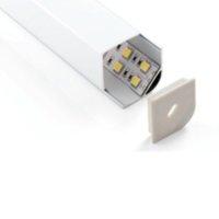 aluminum bar sizes - 2015 New Direct Selling Wedge corning lighting Big Size Aluminum Profile Pendant Tube Mounted By Screws Led Bar ALP015R