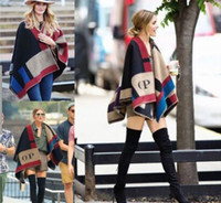 designer wool scarves - 2016 new fashion women high quality and brand designer scarf Irregular color shawl Factory price