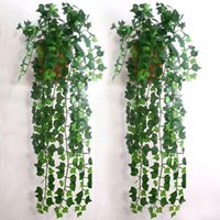 artificial ivy - Hot Selling Artificial Ivy Leaf Garland Plants Vine Fake Foliage Flowers Home Decor holiday decorations now