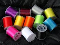 Fly сравнялся нить 75 денье выбрать один из 12 цветов, 220 Yd шпули манит материалы