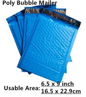 mail bags - PB Blue X9inch X229MM Usable space Poly bubble Mailer envelopes padded Mailing Bag Self Sealing