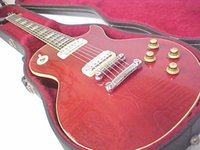 Wholesale New Beautiful hot sell Deluxe Cherry Red electric guitar in stock