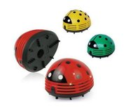 Cheap Mini Ladybug Vacuum Cleaner Desktop Coffee Table Vacuum Cleaner Dust Collector For Home Office Car 48pcs lot