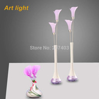 bedded or wedded - colors Calla lily or concentric spheres shaped LED desk Lamp decor amp bedside lamp wonderful wedding