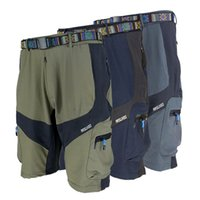 Wholesale ARSUXEO Outdoor Shorts MTB Cycling Short Adjustable Pants Shorts for Outdoor Sports Camping Hiking Climbing