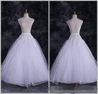 tulle petticoat - Fashion Cheap A Line Tulle Bridal Petticoats Wedding Underskirt Crinolines Bridal Accessory
