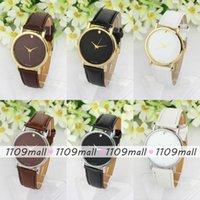 Cheap leather Strap Wristwatch Best Men Leather watch