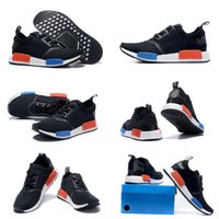 cotton table runner - Drop Shipping Cheap Famous NMD Runner Primeknit S79168 Black Red Blue Women s Mens Sports Running Athletic Sneakers Shoes Size