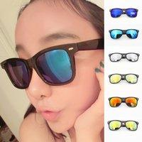 Wholesale Special Fashion Hot manufacturers mercury piece Fan Bingbing same paragraph m nail color reflective sunglasses unisex sunglasses