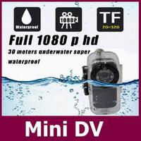 Preuve de l'eau Mini caméra S1 corps métallique Mini DV Voix fiche cotrol de la vidéo caméra réseau Full HD 1080p IR Night Vision + Livraison gratuite