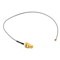 Wholesale for PCI Wifi Card U FL IPX to RP SMA female RF Pigtail Cable JumperSearch