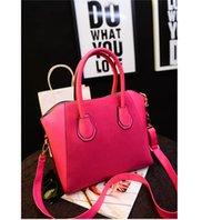 Wholesale Hot Sale Colors Fashion bags women handbag spring patchwork nubuck leather bags women messenger bag