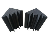 bass traps - 12 Black Studio Soundproof Foam Charcoal Bass trap Acoustic Sponge