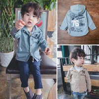 baby trench - Kids Trench Coats Boys Coat Child Clothes Kids Clothing Baby Coats Spring Autumn Coat Kids Hoodies Children Trench Coat Lovekiss C22102