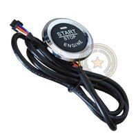Wholesale single car push start button push stop car engine button ignition start by pressing button