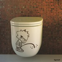 bad boy stickers - 20 cm Bad boy toilet wall stickers home decor Wall Decals Removable waterproof washroom Wall Sticker Home decoration