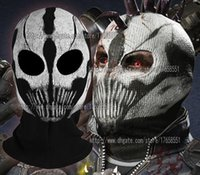 Wholesale call of duty ghosts extinction DLC mask cotton Rib fabrics mask Ski skateboard Cosplay CS COD