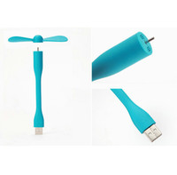 Wholesale Hot Sale Original Xiaomi USB Mini Fan Flexible Portable charger For Power Bank Notebook Laptop Computer Power saving