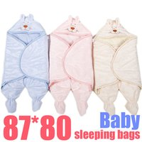 Cheap Winter Newborn Infant Cotton Material Bag feet Sleeping Bags Plus Size Footed Pajamas Baby warm suits Bathrobe Sleepers Bath Robe