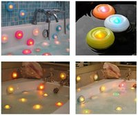 best bath tubs - Best price Color Changing Bath Tub Swimming Pool Floating LED Night Light Waterproof Romantic Pond Spa Hot Tub LED Night Light