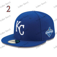 Wholesale kansas city royals royal world series champions side patch fitted hat