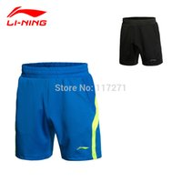 Wholesale New Li Ning Women Badminton sports shorts Badminton Women CHINA National Team Race shorts Tennis Shorts AAPK002