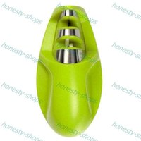 Wholesale Brand New Portable Kitchen Knife Sharpener Sharpening Tools For Knife Two Stages Diamond Sharpener Professional