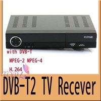 Cheap 2pcs lot Freeshipping DVB-T2 HD Digital Terrestrial Receiver TV Box DVB T2 Tuner Set top box
