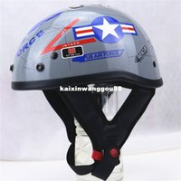 america chopper - America Style Motorcycle Helmet US Air Force design motorbike helmet chopper bike helmet DOT helmet